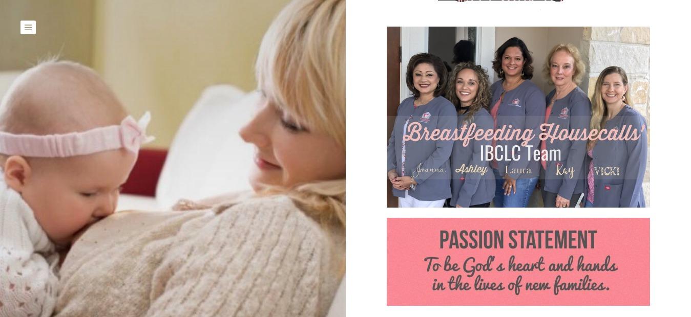 Breastfeeding House Calls