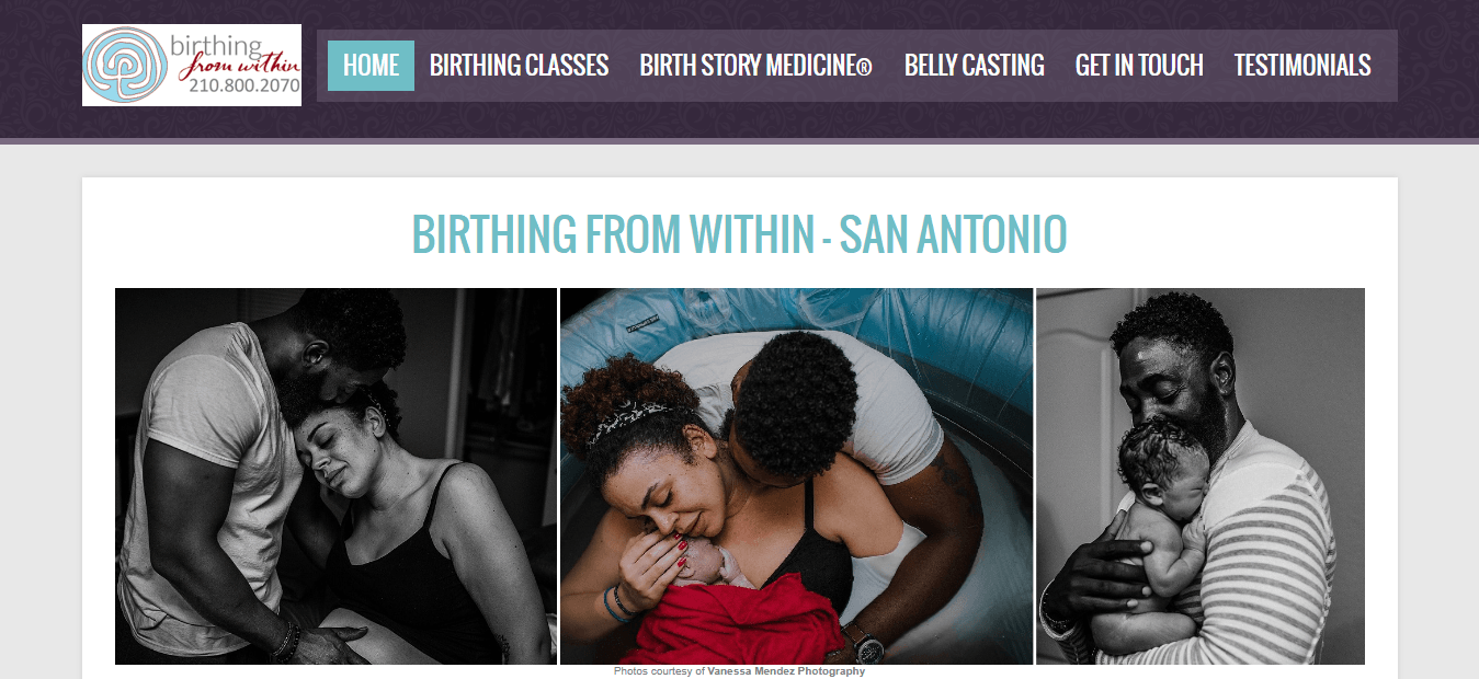 Birthing From Within San Antonio